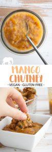 Vegan Mango Chutney Pin