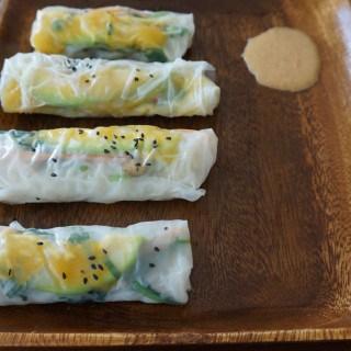 Summer Rolls w/ Peanut Butter Dip