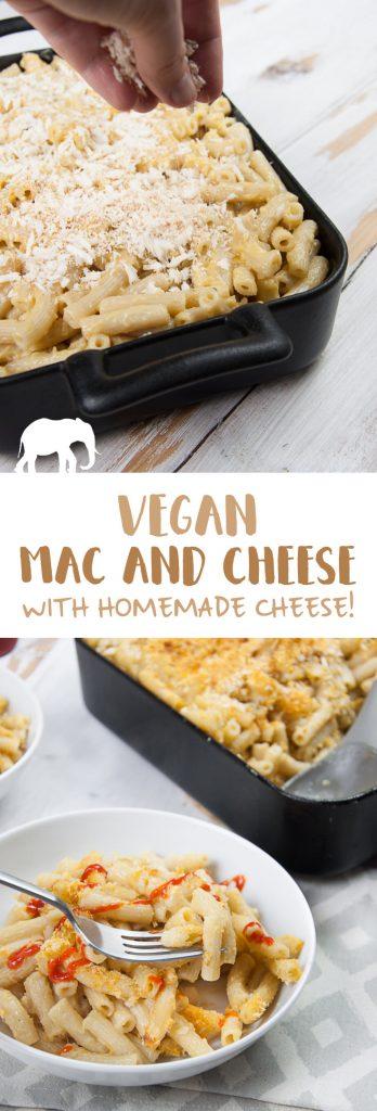 Vegan Mac and Cheese | ElephantasticVegan.com
