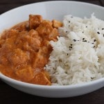 orange tempeh curry