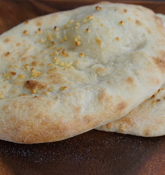 Indian Garlic Naan