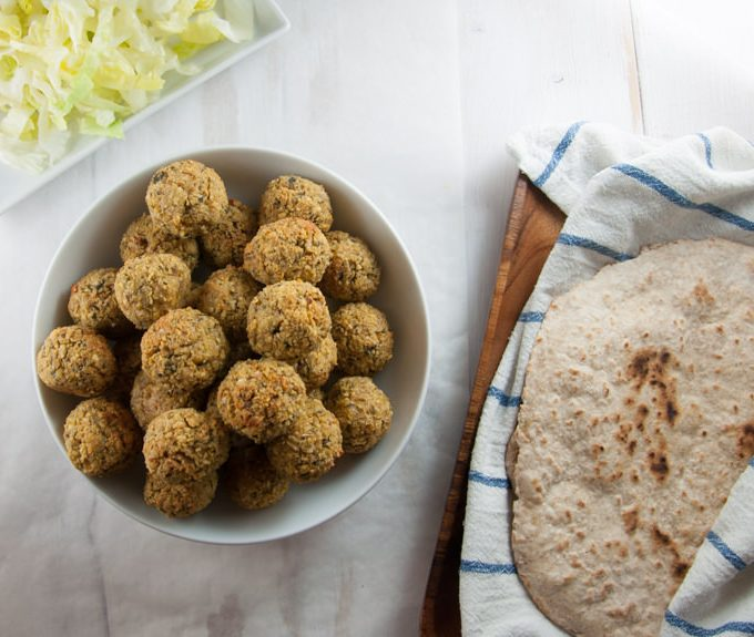 Huge Batch of Falafel