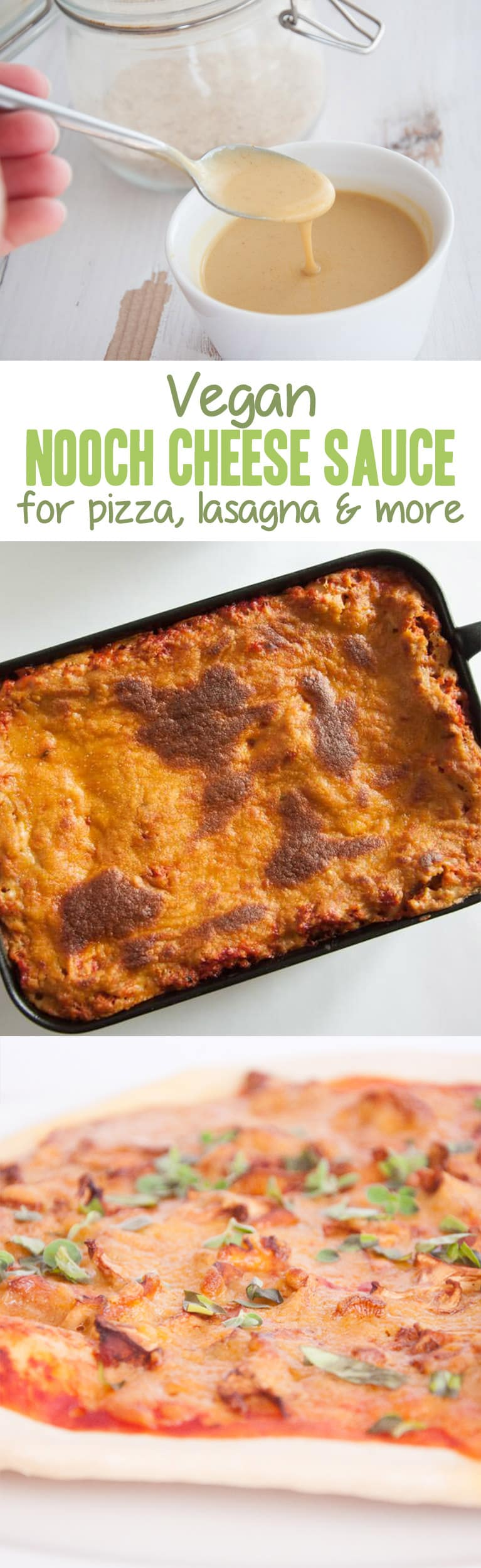 Nooch Cheese Sauce - vegan | ElephantasticVegan.com