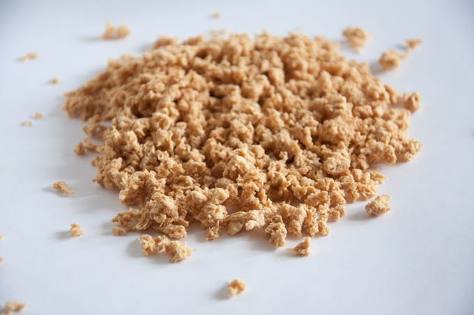 Textured Vegetable Protein - Soya Granules | ElephantasticVegan.com
