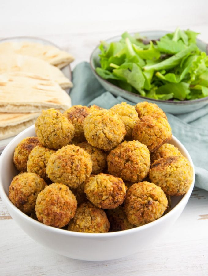 Oven-Baked & Freezer-Friendly Falafel