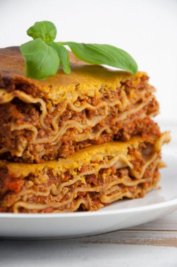 Vegan Lasagna with Nooch Cheese