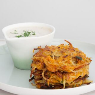 Pumpkin & Potato Rösti