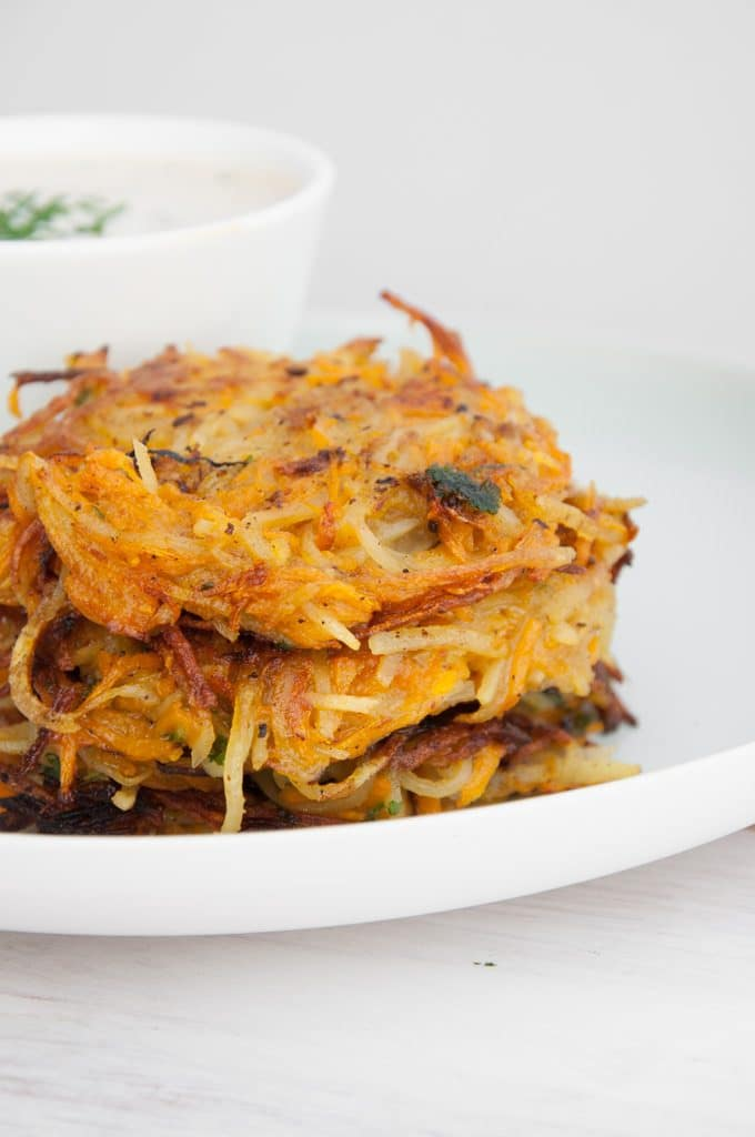 Vegan Pumpkin & Potato Rösti