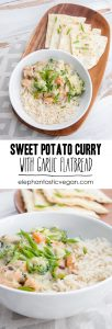 Vegan Sweet Potato Curry | ElephantasticVegan.com