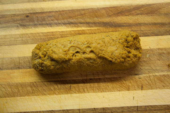 seitan roast before baking