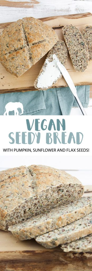 Vegan Seedy Bread