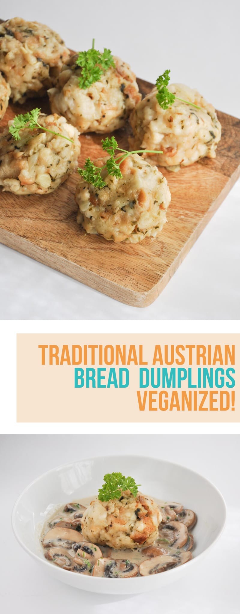 Vegan Bread Dumplings | ElephantasticVegan.com