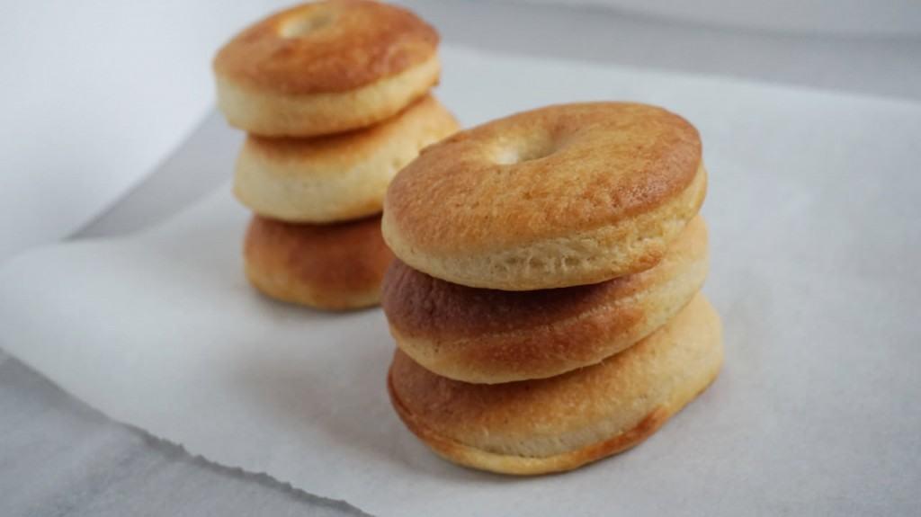 vegan baked donut