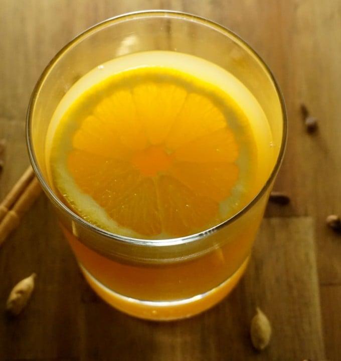 Orange Rosemary Punch