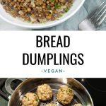 Vegan Bread Dumplings