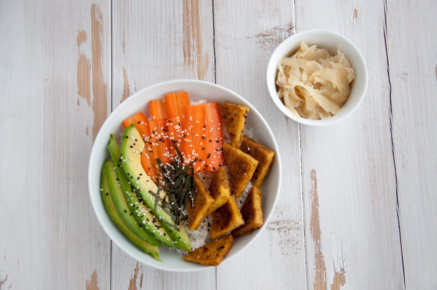 Deconstructed Sushi Bowl | Elephantastic Vegan