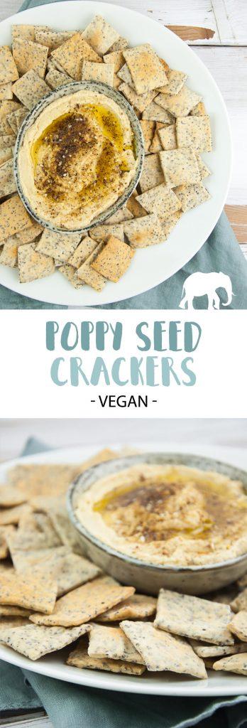 Vegan Poppy Seed Crackers