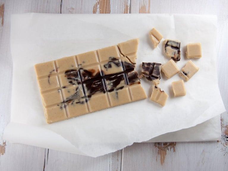 Peanut Butter Chocolate with Dark Chocolate Swirls