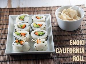 Enoki California Roll