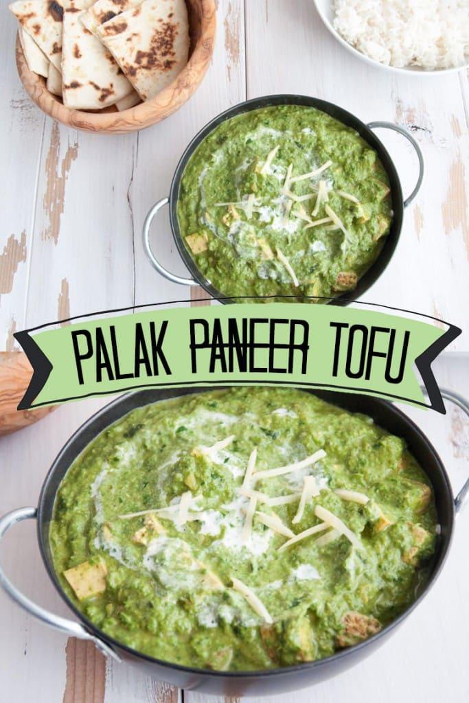 Palak Tofu Elephantastic Vegan