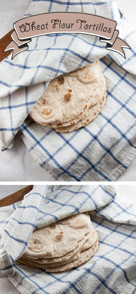 Vegan Wheat Flour Tortillas | ElephantasticVegan.com