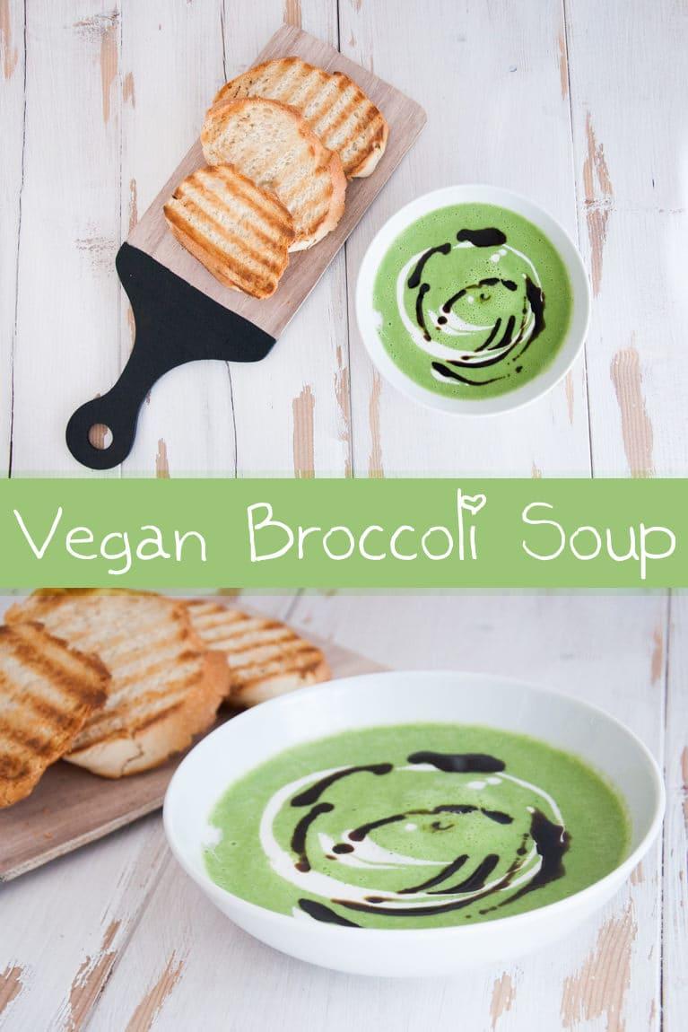 Vegan Broccoli Soup | ElephantasticVegan.com