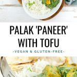 Palak Tofu Paneer