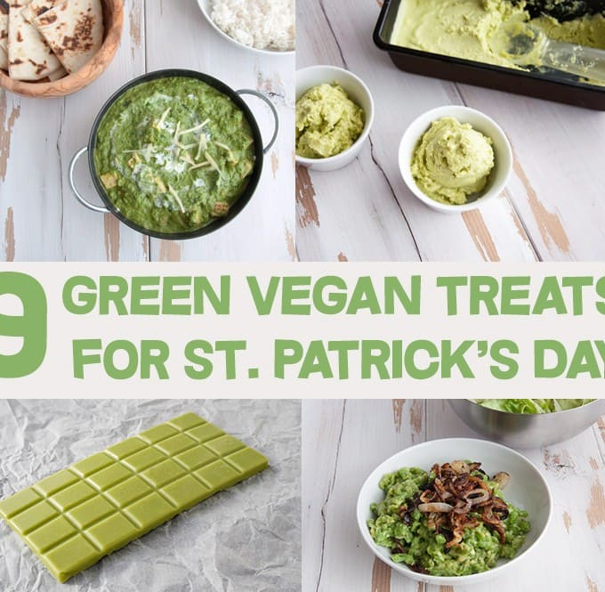 9 Green Vegan Treats for St. Patrick's Day