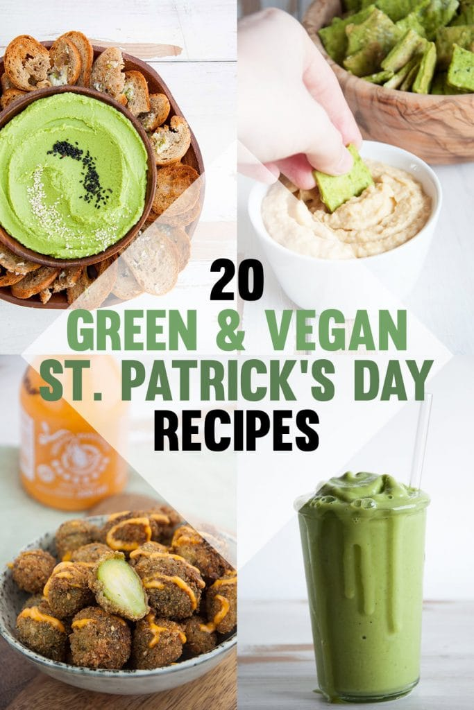 Green & Vegan St. Patrick's Day Recipes
