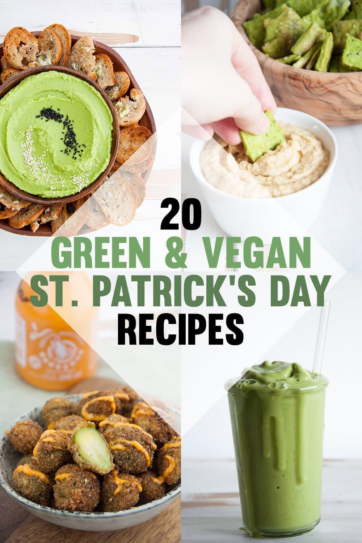 Green & Vegan St. Patrick's Day Recipes