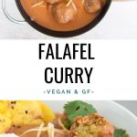 Vegan Falafel Curry