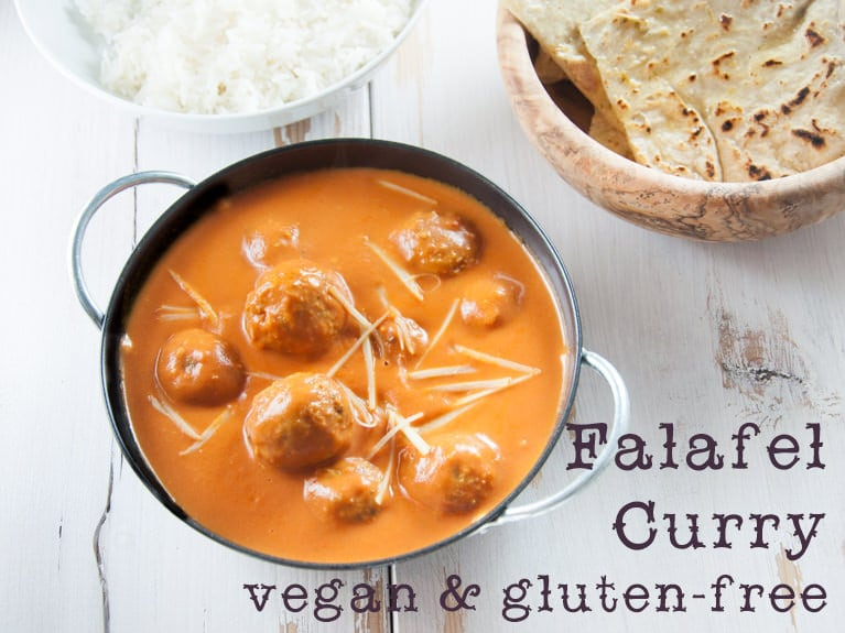 Vegan Falafel Curry | ElephantasticVegan.com
