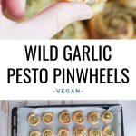 Wild Garlic Pesto Pinwheels