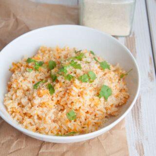 Healthy & Vegan Carrot Rice