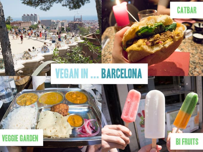 Vegan in Barcelona, Spain