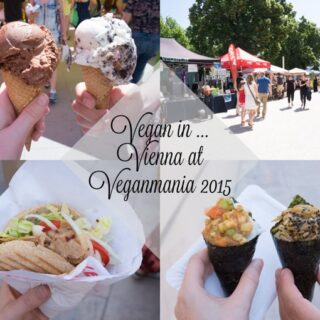 Vegan in Vienna at the Veganmania 2015