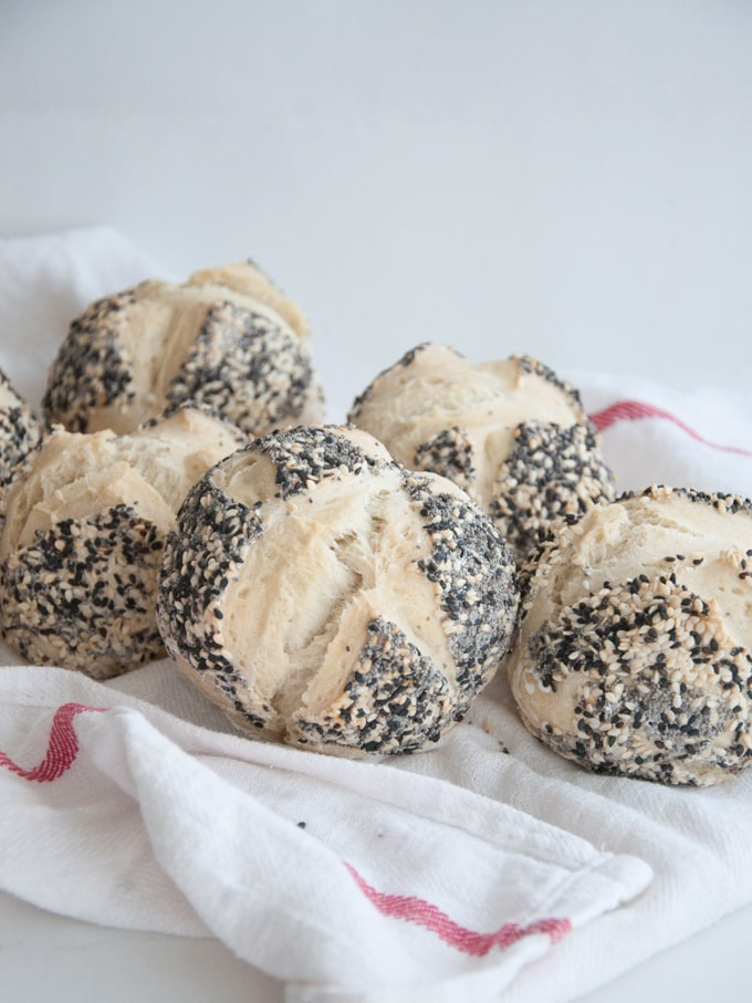 Seeded Burger Buns