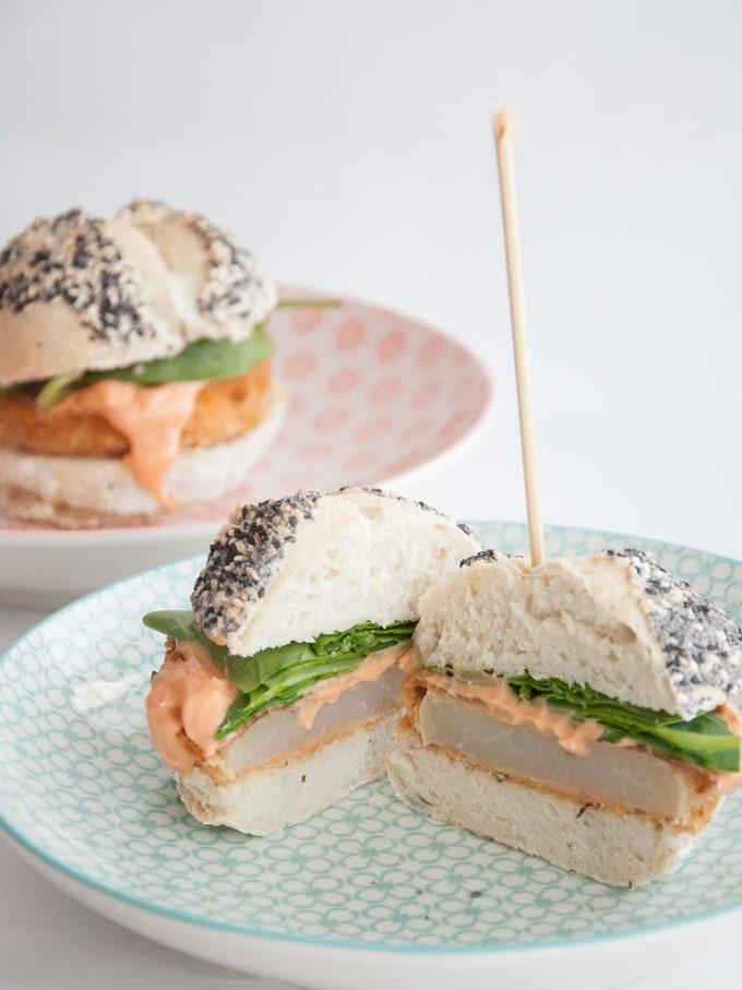 Kohlrabi Burger