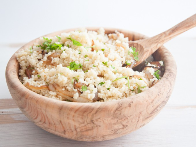Simple Onion Couscous
