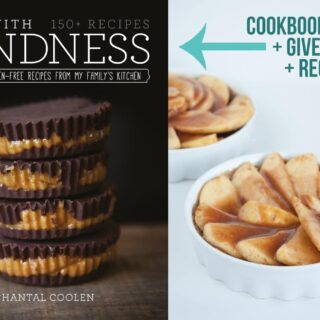 """[Cookbook Review] """"Cook with Kindness"""" + GIVEAWAY + Caramel Apple Pie"""