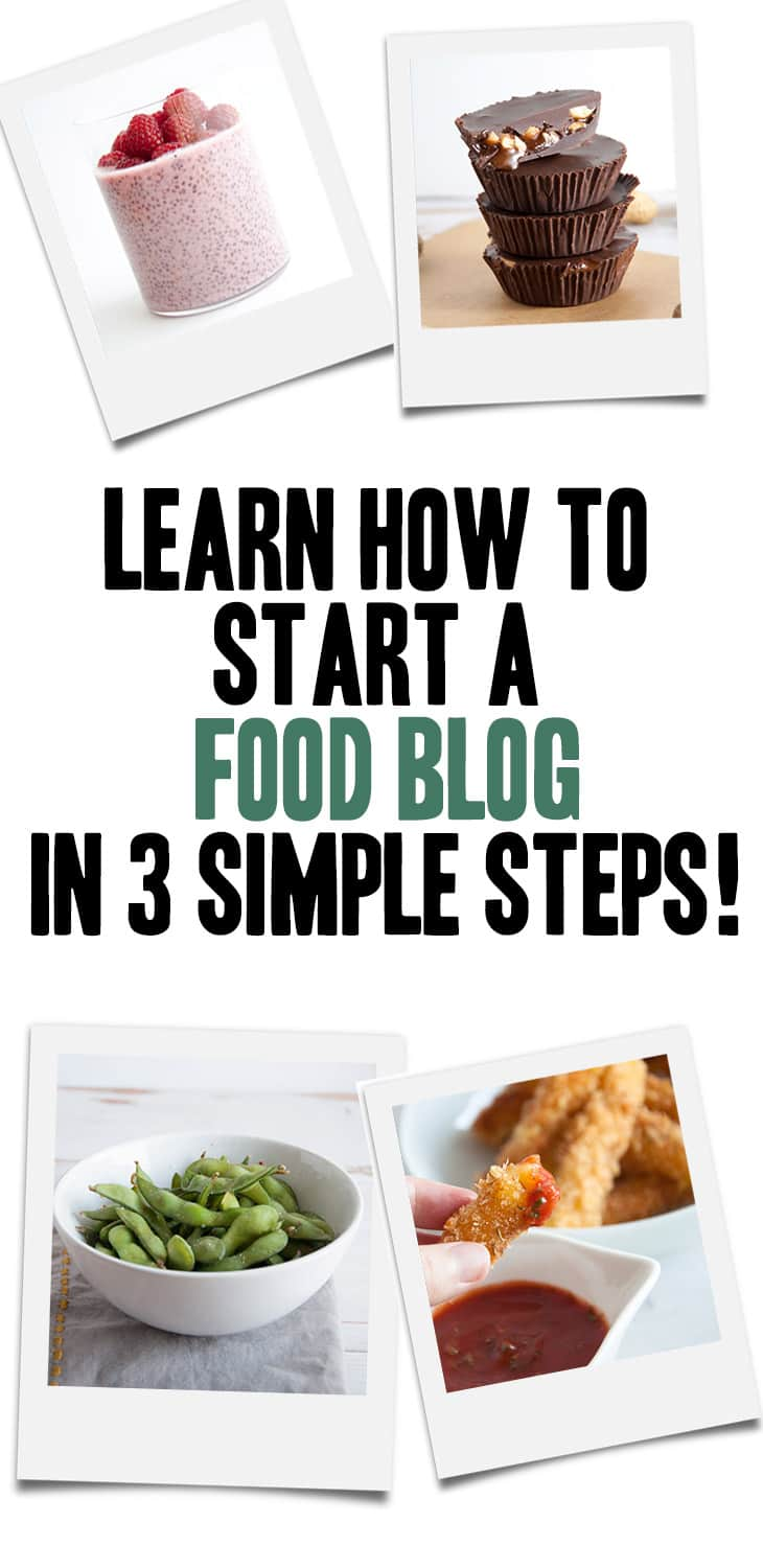 How to start a food blog in 3 simple steps | ElephantasticVegan.com