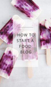 How To Start A Food Blog |ElephantasticVegan.com