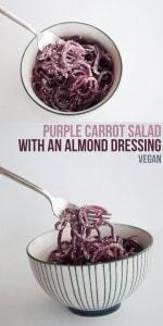 Purple Carrot Salad