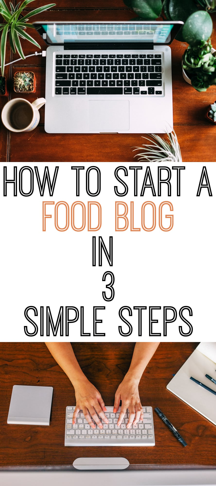 How to start a food blog in 3 simple steps