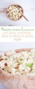 Mediterranean Couscous   ElephantasticVegan.com