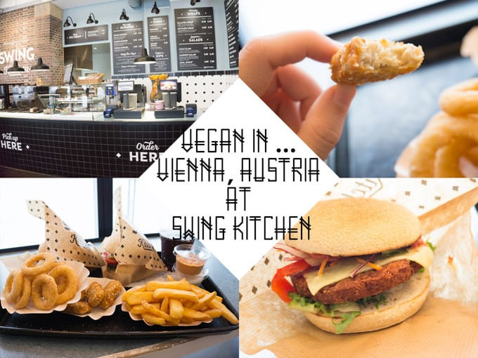 Vegan in Vienna, Austria at Swing Kitchen