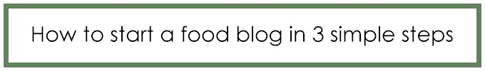 Start a Food Blog | ElephantasticVegan.com