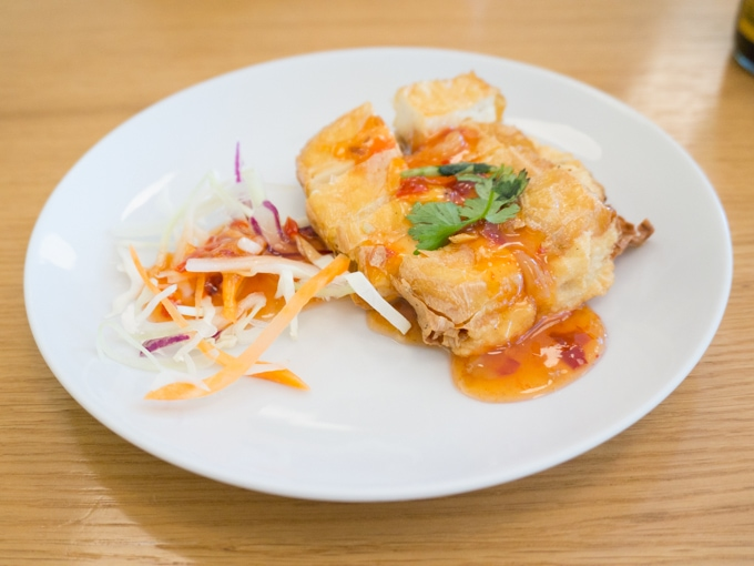 Crispy Tofu at Fu Cheng