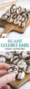 Vegan No-Bake Coconut Balls
