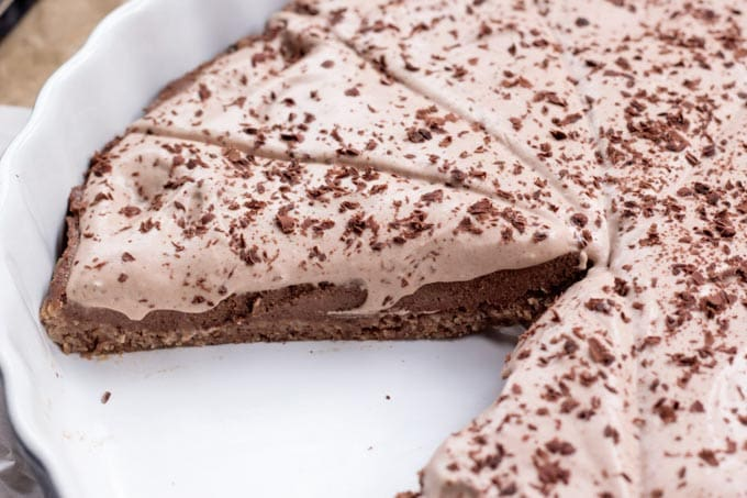 Chocolate Hazelnut Pie - Cearas Kitchen